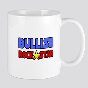 """Bullish Rock Star"" Mug"