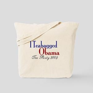 Teabag Obama (Tea Party) Tote Bag