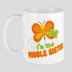 Middle Sister Butterfly Mug