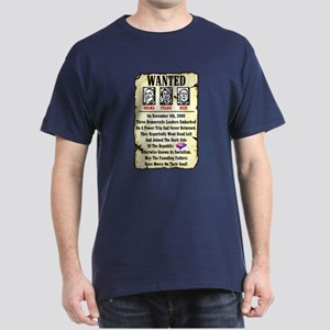 """Wanted"" Dark T-Shirt"