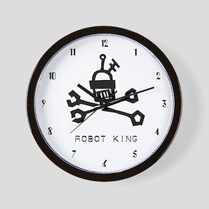 Robot King Wall Clock