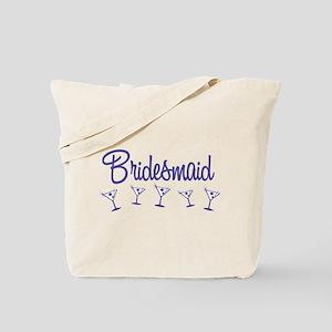 Indigo M Martini Bridesmaid Tote Bag