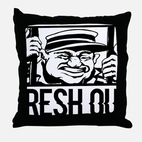 Cute Prison Throw Pillow