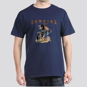 """Cowgirl"" Dark T-Shirt"