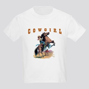 """Cowgirl"" Kids Light T-Shirt"