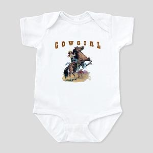 """""""Cowgirl"""" Infant Bodysuit"""