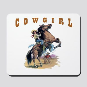 """Cowgirl"" Mousepad"