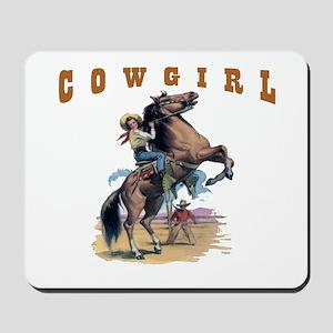 """Cowgirl"" Mousepad"
