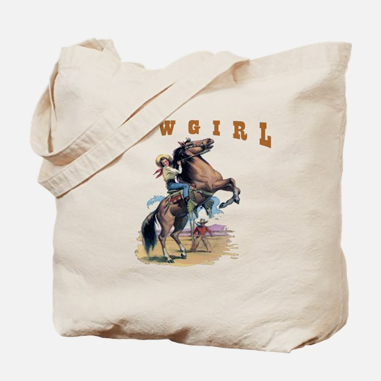 """Cowgirl"" Tote Bag"