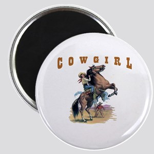 """""""Cowgirl"""" Magnet"""