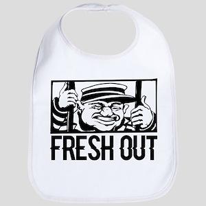 Fresh Out Baby Bib