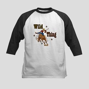 """Wild Thing"" Kids Baseball Jersey"