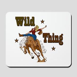 """Wild Thing"" Mousepad"