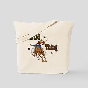 """""""Wild Thing"""" Tote Bag"""