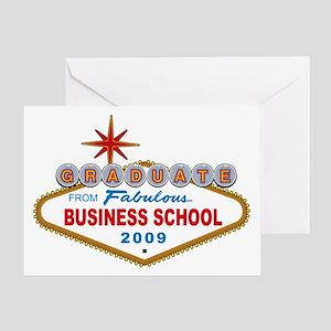 Graduate From Fabulous Business School (Vegas Sign