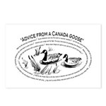 Advice from a Canada goose Postcards (8)