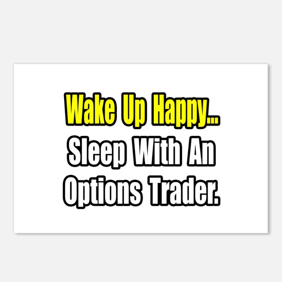 """..Sleep With Options Trader"" Postcards (Package o"