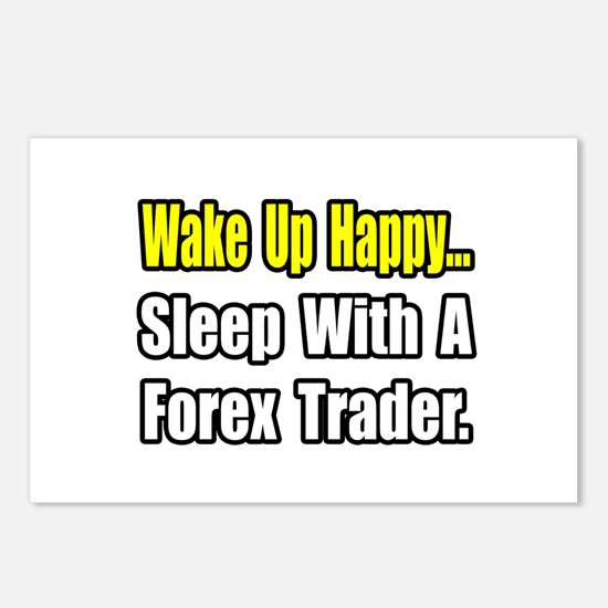 """..Sleep With Forex Trader"" Postcards (Package of"
