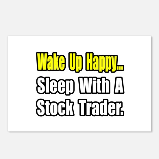 """..Sleep With Stock Trader"" Postcards (Package of"