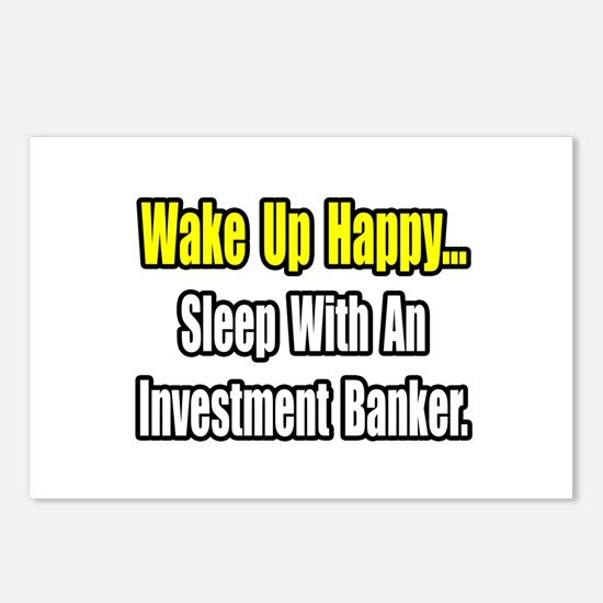 """Sleep w/ Investment Banker"" Postcards (Package of"