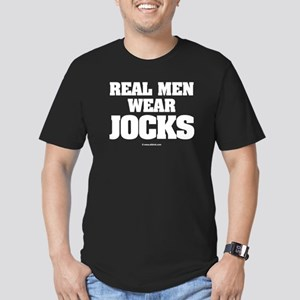 """Real Men"" Fitted Tee"