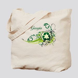 Georgia Recycle T-Shirts and Gifts Tote Bag