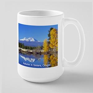 Autumn in Sisters Large Mug
