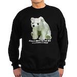 Please Dont Let Me Die Polar Sweatshirt (dark)