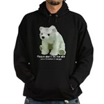 Please Dont Let Me Die Polar Hoodie (dark)