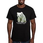 Please Dont Let Me Die Polar Men's Fitted T-Shirt