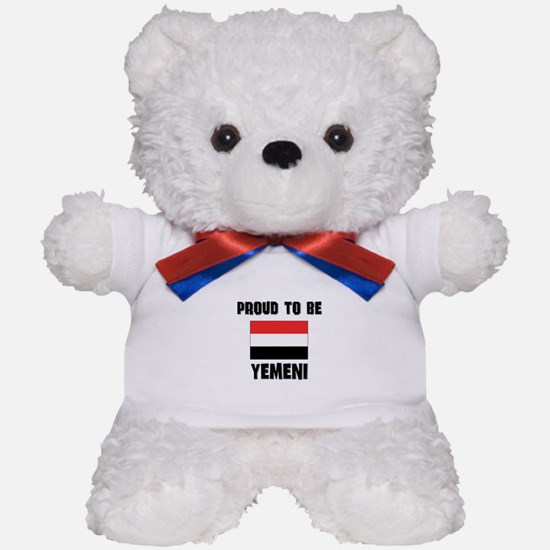 Proud To Be YEMENI Teddy Bear