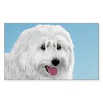 Polish Lowland Sheepdog Sticker (Rectangle 10 pk)