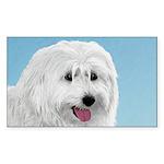 Polish Lowland Sheepdog Sticker (Rectangle 50 pk)