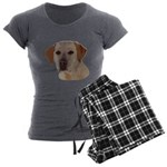 Labrador Retriever Women's Charcoal Pajamas