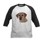 Labrador Retriever Kids Baseball Tee