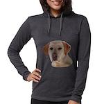 Labrador Retriever Womens Hooded Shirt
