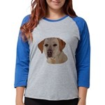 Labrador Retriever Womens Baseball Tee