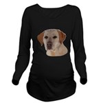 Labrador Retriever Long Sleeve Maternity T-Shirt
