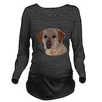 Labrador Retriever Long Sleeve Maternity T-Shirt