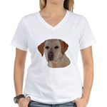 Labrador Retriever Women's V-Neck T-Shirt