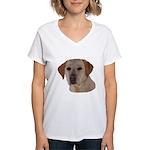 Labrador Retriever Women's V-Neck T-Shirt