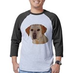 Labrador Retriever Mens Baseball Tee