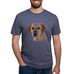 Labrador Retriever Mens Tri-blend T-Shirt