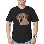 Labrador Retriever Men's Fitted T-Shirt (dark)