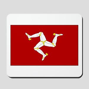 Isle of Man Flag Gear Mousepad