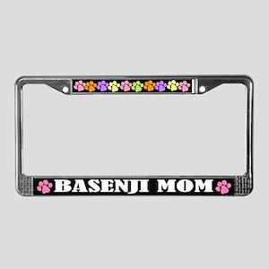 Basenji Mom License Plate Frame