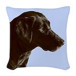 Labrador Retriever Woven Throw Pillow
