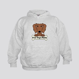Personalized Dachshund Kids Hoodie