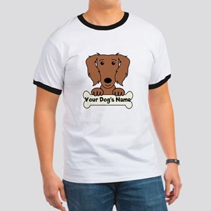 Personalized Dachshund Ringer T