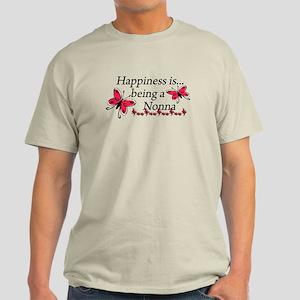 Butterfly Being A Nonna Light T-Shirt